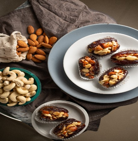 Medjoul Stuffed With Mixed Nuts